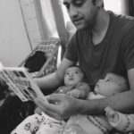 father-reading-to-children