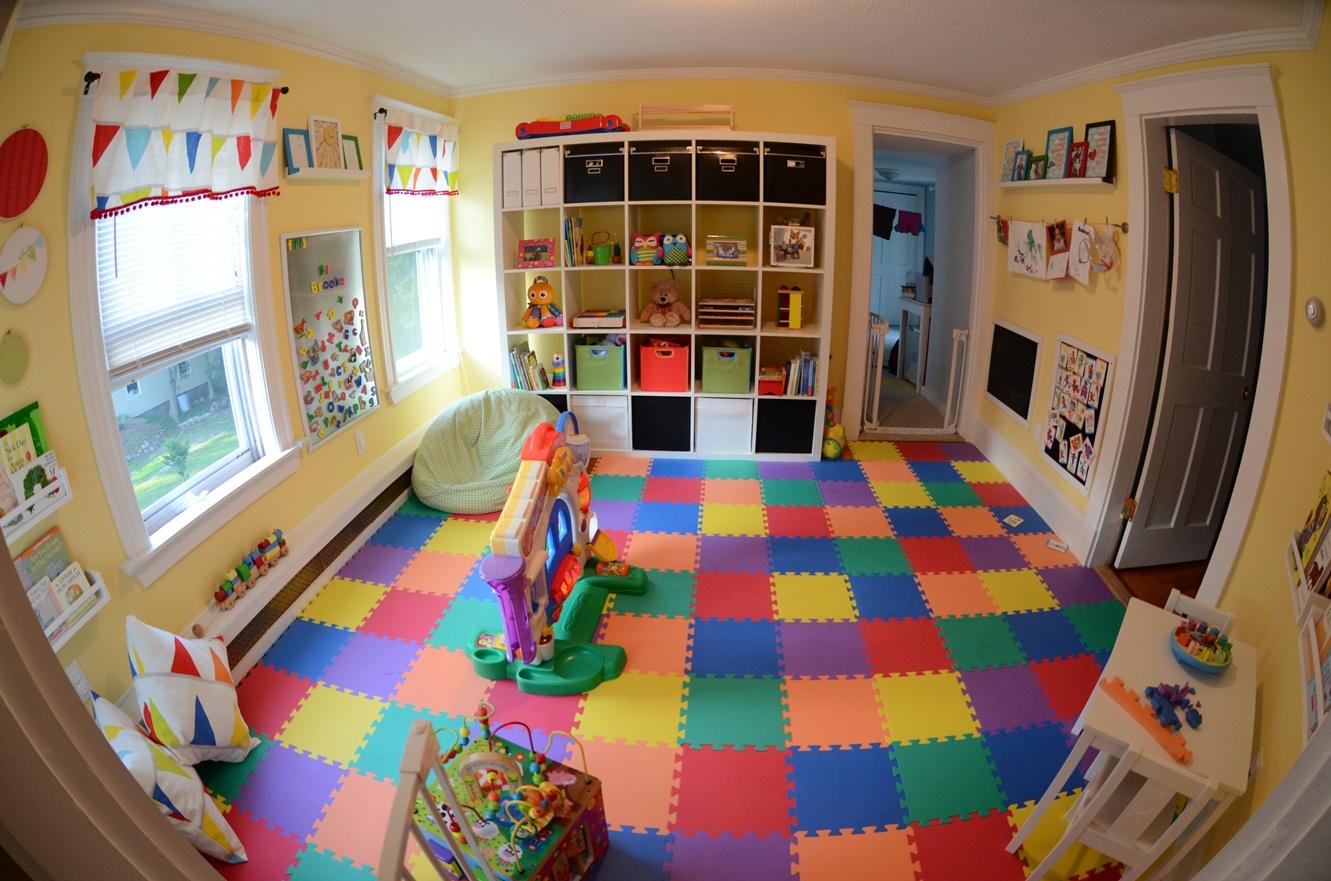 DIY ideas for Decorating Baby Playroom | Go Mommy